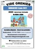 12ème VIDE-GRENIER APES Dimanche 6 juin 2021 à Orvault (Stade du Verger)