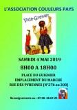 Vide-Grenier Couleurs Pays - 4 mai 2019 - Paris 20