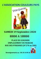 Vide-grenier Couleurs Pays samedi 6 juin 2020 - Paris 20