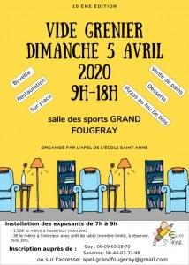 10eme vide grenier Grand Fougeray