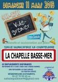 Vide grenier Salle municipale de La Chapelle Basse Mer