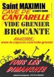 VIDE GRENIER DE LA CAVE DE CANTARELLE TOUS LES DIMANCHES