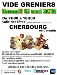 Vide grenier 19 mai 2018 - CHERBOURG