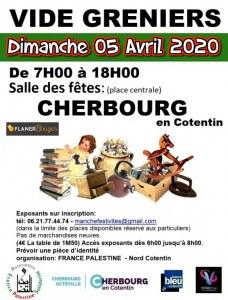 Vide greniers Dimanche 05 Avril 2020 CHERBOURG