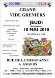 Vide greniers Doutre SC le jeudi 10 mai 2018 à ANGERS