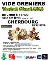 Vide greniers Vendredi 22 mai 2020 - cherbourg