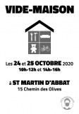 Vide-Maison à St Martin d'Abbat (45)