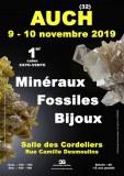 1er SALON MINERAUX FOSSILES BIJOUX d'AUCH - GERS - OCCITANIE