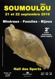 2e SALON d'AUTOMNE MINERAUX FOSSILES BIJOUX de SOUMOULOU - PYRENEES-ATLANTIQUES - NOUVE...