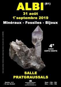 4e SALON MINERAUX FOSSILES BIJOUX
