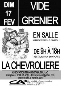 5è VIDE GRENIER EN SALLE DU TTLC
