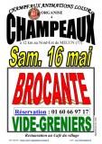 BROCANTE & VIDE-GRENIERS à CHAMPEAUX (77), le 16/05/2020