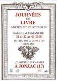 5èmes JOURNEES DU LIVRE ANCIEN ET D'OCCASION de JONZAC