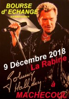 BOURSE COLLECTION POUR LES FANS DE JOHNNY HALLYDAY
