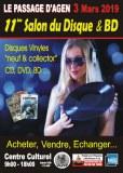 Salon du Disque et BD du Passage d'Agen