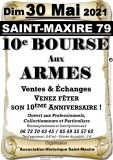 Xème BOURSE AUX ARMES DE SAINT-MAXIRE (79)