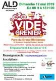VIDE-GRENIER ALD 2019 - C'EST COMPLET ! ...