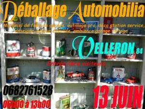 Vide garage auto-moto à Velleron 84