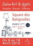 Salon Art & Objets - Antiquités - Brocante Square des Batignolles