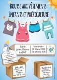 Bourse aux vêtements enfants & puériculture (été)