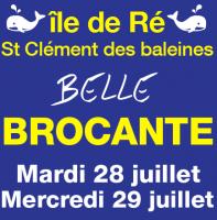 Belle brocante de Saint Clément des Baleines