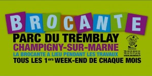 Brocante Parc du Tremblay à Champigny-sur-Marne