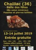 28ème salon MINERAUX FOSSILES et PIERRES TAILLEES