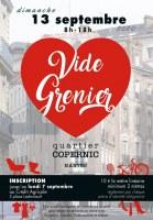 Vide Grenier de l'association des commerçants du Quartier Copernic