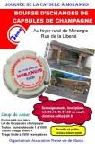 Bourse d'échange de capsules de champagne à Morangis 51530