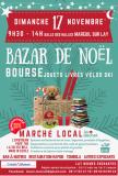 BAZAR de NOEL - BOURSE aux jouets Livres ski et son Marché local