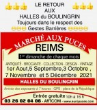 Marché aux Puces de Reims Halle Boulingrin