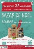 BAZAR de NOËL - BOURSE aux jouets, livres, ski, ... et MARCHE LOCAL