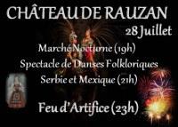 Grand Festival Folklore, Grand Marché Nocturne et Feu d'Artifice