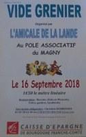 Vide-greniers de l'Amicale de La Lande