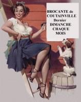 Marché d'Antiquités-Brocante de COUTAINVILLE (50)
