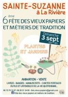 Fête des Vieux Papiers et Métiers de Tradition