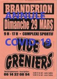 ANNULE-Vide greniers Brandérion le Dimanche 29 Mars 2020