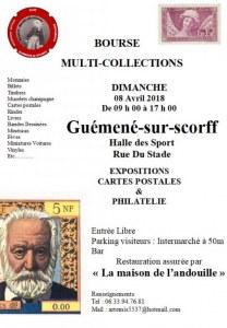 Bourse multicollections Guémené-sur-scorff (56160)