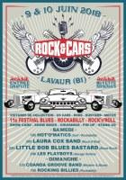 Festival ROCK'&'CARS à Lavaur (81) les 9 et 10 juin 2018