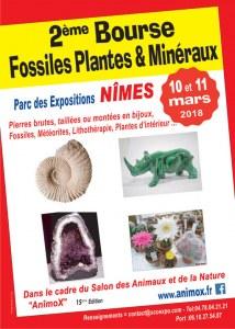 2 ème Bourse Fossiles & Minéraux de NIMES