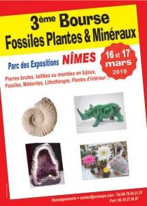 3 ème Bourse Fossiles, Minéraux et Lithothérapie de NIMES