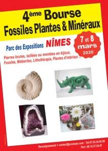 4 ème Bourse aux Fossiles, Plantes et Minéraux de NIMES