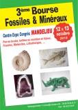 3 ème Bourse aux Minéraux, Fossiles et Lithothérapie de MANDELIEU la Napoule