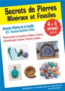 Secrets de Pierres - Bourse aux Minéraux, Fossiles, Lithothérapie et Espace Zen - de TO...