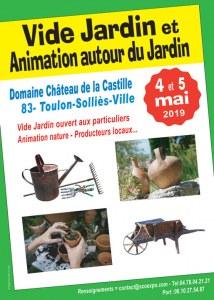 Vide Jardin NATUR'ANIMO 2019 - TOULON/Sollies 83210