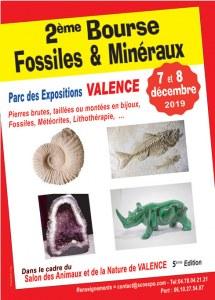 2 ème Bourse aux Minéraux, Fossiles et Lithothérapie de VALENCE (Drome)