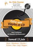 FOIRE AUX DISQUES VINYLES ET CD à CHOLET