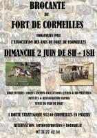BELLE BROCANTE AU FORT DE CORMEILLES EN PARISIS