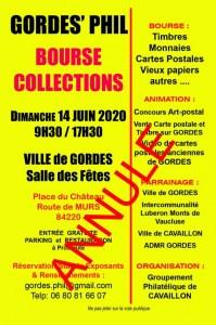 GORDES'PHIL, BOURSE COLLECTIONS
