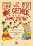 Vide-grenier 2021 de la rue Léon Jamin